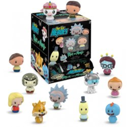 DISPLAY RICK & MORTY PINT SIZE HEROES (24)