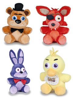 DISPLAY PELUCHES FIVE NIGHT FREDDY 15CM (9)