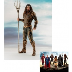 FIGURA ARTFX JLA MOVIE AQUAMAN 19CM