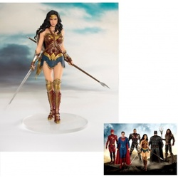 FIGURA ARTFX JLA MOVIE WONDER WOMAN 19CM