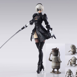 FIGURA NIER BRING ARTS 2B & MACHINE LIFEFORM