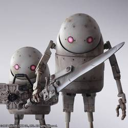 FIGURA NIER BRING ARTS MACHINE LIFEFORM SET