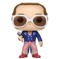 FIGURA POP ROCK: ELTON JOHN BLUE RED AND WHITE
