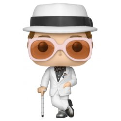 POP VINYL FIGURE ROCK: ELTON JOHN WHITE
