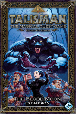 TALISMAN 4TH EDICION: THE BLOOD MOON (INGLES)