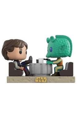 FIGURA POP STAR WARS DUELS: HAN SOLO & GREEDO