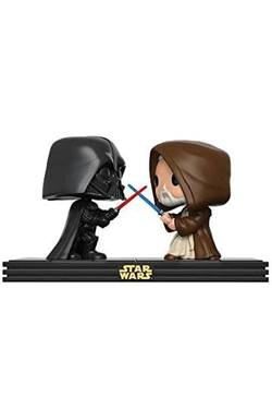 FIGURA POP STAR WARS DUELS: OBI WAN VS DARTH VADER