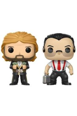 POP FIGURE WWE PACK: IR & MILLION DOLLAR MAN