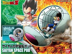 FIGURA DRAGON BALL SAIYAN SPACE POD KIT