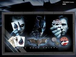 BATMAN DARK KNIGHT COLLECTOR SET 63x35CM