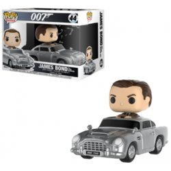 FIGURA POP JAMES BOND: ASTON MARTIN & SEAN CONNERY