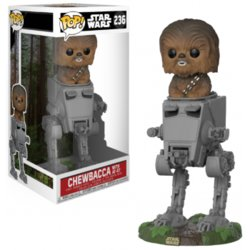 FIGURA POP STAR WARS: CHEWBACCA IN AT-ST