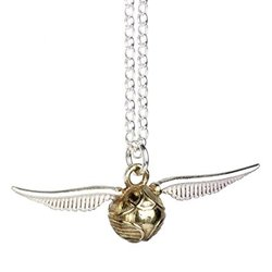 HARRY POTTER GOLDEN SNITCH SILVER PENDANT