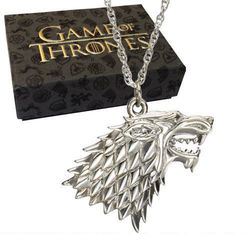 GAME OF THRONES STARK SILVER PENDANT