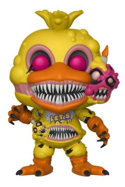 FIGURA POP FNAF VINYL BOOKS: TWISTED CHICA