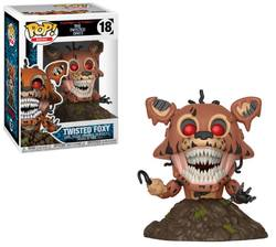 FIGURA POP FNAF VINYL BOOKS: TWISTED FOXY