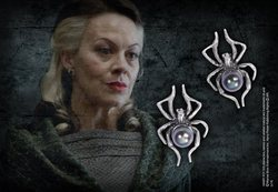 HARRY POTTER NARCISSA MALFOY SILVER EARRINGS
