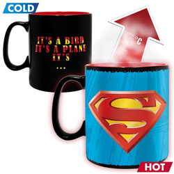 SUPERMAN MUG 460 ML *HEAT CHANGING*