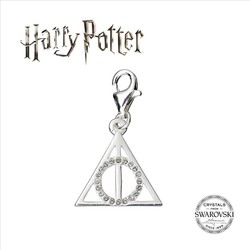 COLGANTE SWAROVSKI CRYSTAL HARRY POTTER CHARM DEATHLY HALLO