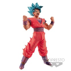 FIGURA BANPRESTO DRAGON BALL GOKU BLUE 18CM