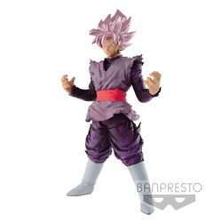FIGURA BANPRESTO DRAGON BALL GOKU ROSA 18CM