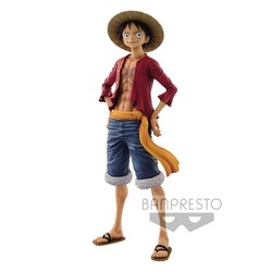 FIGURA BANPRESTO ONE PIECE LUFFY DELUXE 27CM