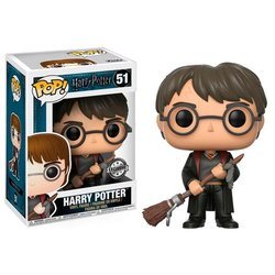 FIGURA POP HARRY POTTER: HARRY FIREBOLT