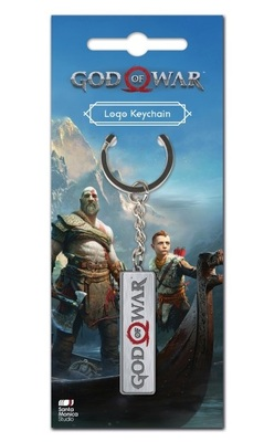 KEY CHAIN GOD OF WAR LOGO 2018