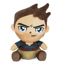 STUFFED DOLL STUBBINS UNCHARTED NATHAN DRAKE 20 CM
