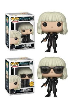CAJA POP ATOMIC BLONDE LORRAINE OUTFIT CHASE 5+1