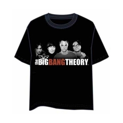 BIG BANG THEORY T-SHIRT GROUP XL