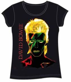 CAMISETA CHICA DAVID BOWIE S