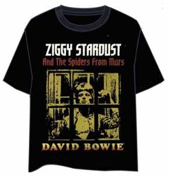 CAMISETA DAVID BOWIE ZIGGY STARDUST XL