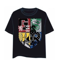 HARRY POTTER T-SHIRT HOUSES L