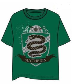 HARRY POTTER T-SHIRT SLYTHERIN M
