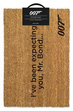 DOORMAT -  JAMES BOND 007 40 X 60