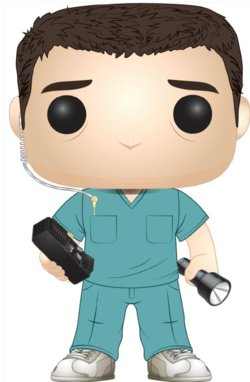 POP FIGURE  STRANGER THINGS: BOB IN SCRUBS