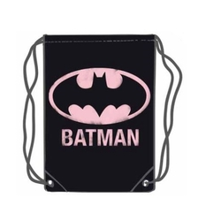 GYM BAG BATMAN PINK 45 X 35