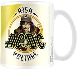TAZA AC/DC HIGH VOLTAGE
