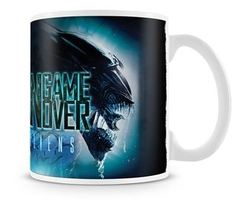 TAZA ALIENS GAME OVER