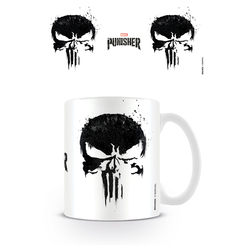 TAZA MARVEL THE PUNISHER SKULL