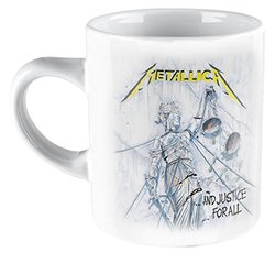 TAZA METALLICA JUSTICE FOR ALL