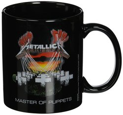 TAZA METALLICA MASTER OF PUPPETS