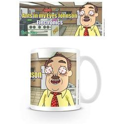 MUG -  RICK & MORTY EYES JOHNSON