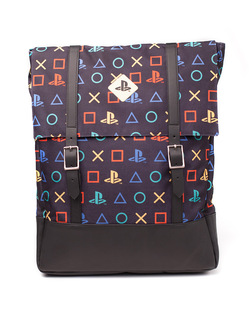 PLAYSTATION VINTAGE BLACK BACKPACK