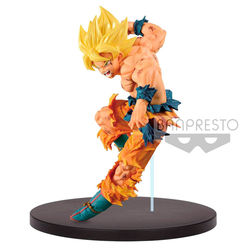 FIGURA BANPRESTO DRAGON BALL GOKU SS MAKERS 16 CM