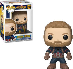 POP FIGURE MARVEL INFINITY WAR: CAPTAIN AMERICA