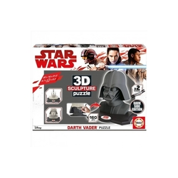 PUZLE 3D ESCULTURA STAR WARS DARTH VADER 160 PCS