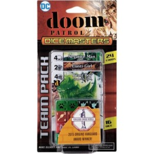 DC DICE MASTERS DOOM PATROL TEAM PACK (INGLES)