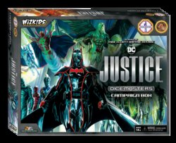 DC DICE MASTERS JUSTICE CAMPAIGN BOX (INGLES)